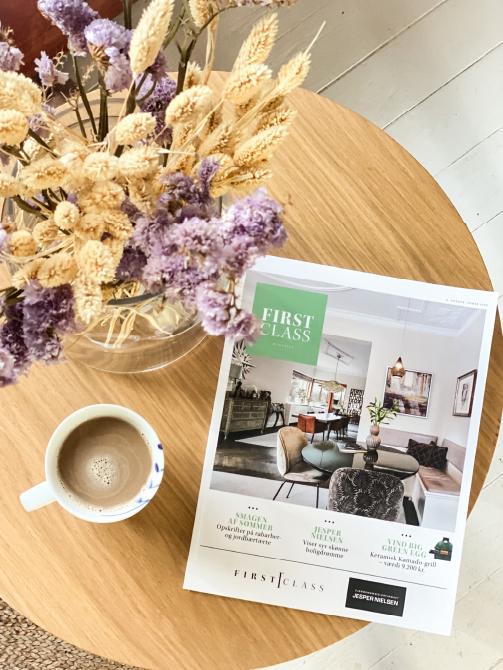 Pernille Riis Frederiksen Firstclass magasin